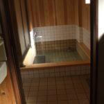 "<span class=""title"">松村屋旅館、液体ガラス施工のお風呂、その後</span>"